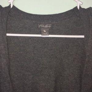 Eddie Bauer Sweaters - Grey cardigan